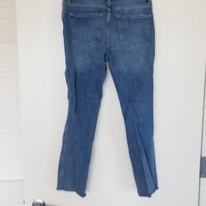 Free people high-waisted jeans